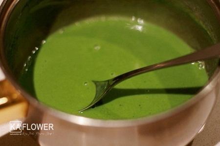cách làm trà sữa thái xanh