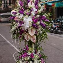 hoa mừng khai trương cửa hàng