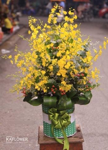 lẵng hoa đẹp chúc mừng sinh nhật