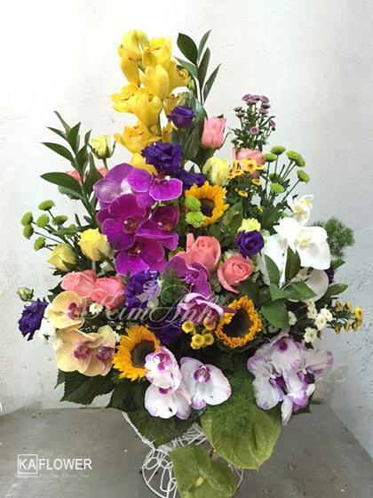 lẵng hoa sinh nhật đẹp nhất