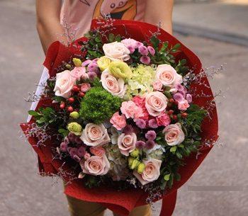 những bó hoa đẹp chúc mừng sinh nhật