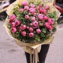 những bó hoa sinh nhật