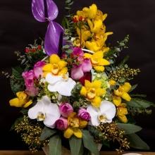 những lẵng hoa sinh nhật đẹp