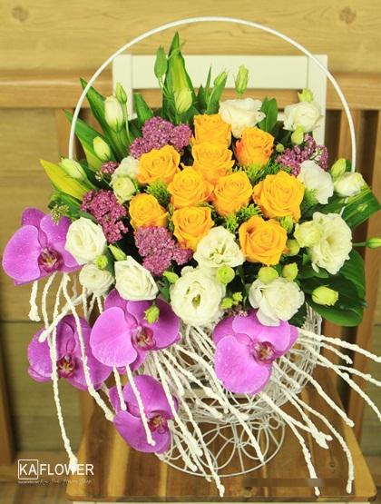 những lẵng hoa sinh nhật đẹp nhất
