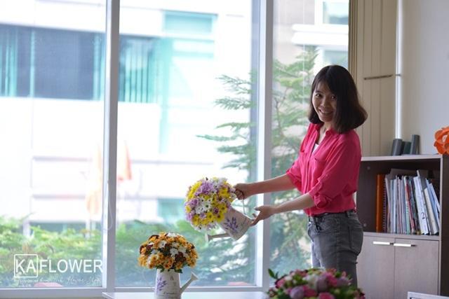 bó hoa cúc đẹp