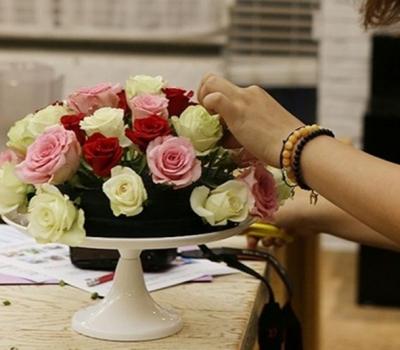 cách cắm hoa sinh nhật