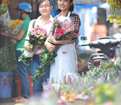 cách lựa chọn hoa tươi ngày 8 tháng 3