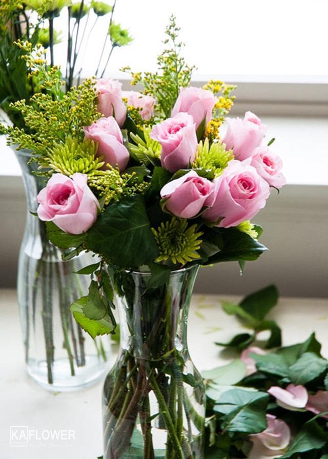Hướng dẫn chọn và cắm hoa