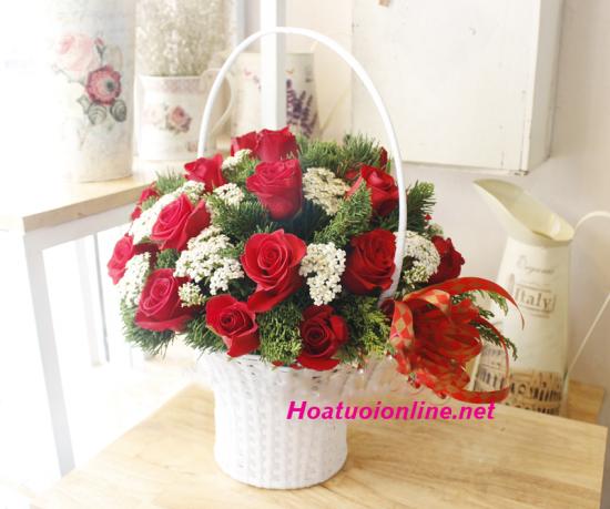 Tặng hoa sinh nhật bạn gái luôn là món quà vô cùng đặc biệt và ý nghĩa