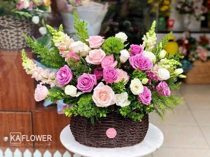 hoa hồng 20 tháng 10