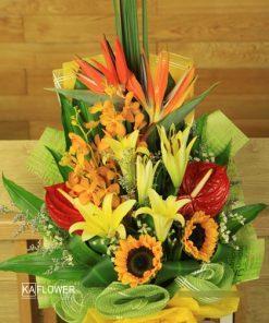 bó hoa chúc mừng sinh nhật