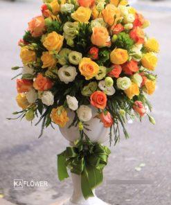 giỏ hoa đẹp tặng sinh nhật