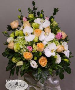 lẵng hoa đẹp mừng sinh nhật