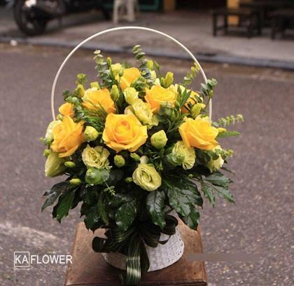 lẵng hoa sinh nhật / tặng hoa sinh nhật