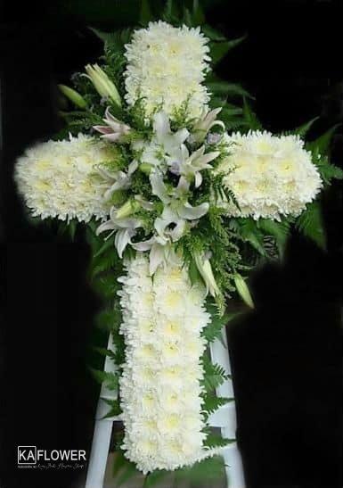 Hoa cuc trang hoa tang thien chua