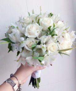 Hoa Cầm Tay Cô Dâu Kim Cương