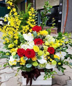 Hoa Chúc Mừng Hồng Phát