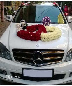 Hoa xe cưới 10