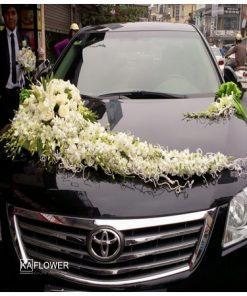 Hoa xe cưới 2