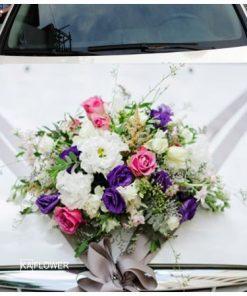 Hoa xe cưới 9