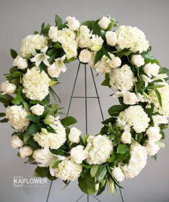 Vòng hoa tang lễ Luyến tiếc