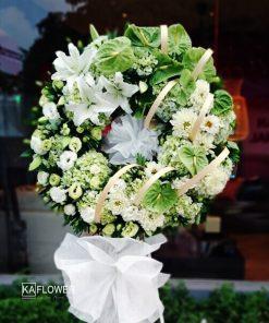 Vòng Hoa Tang Lễ Thiên Thu 2